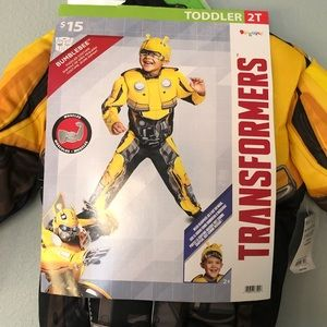 New Kids Bumble Bee Transformers Costume